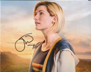 Jodie Whittaker - Signed 10 x 8. This is an original autograph not a copy 10319